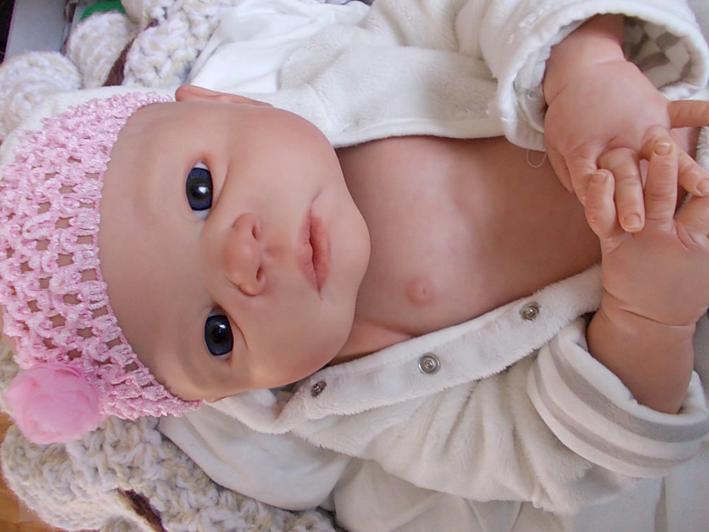 reborn baby doll kit - Victoria by Sheila Michael