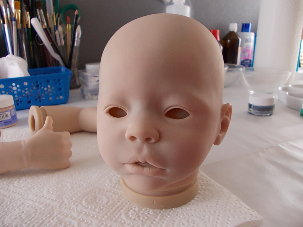 reborn baby doll kit - Nikki